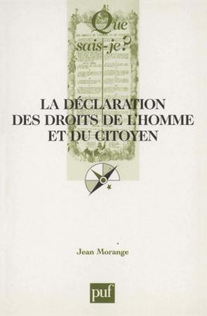 La Déclaration des Droits de l'Homme et du Citoyen (26 août 1789)