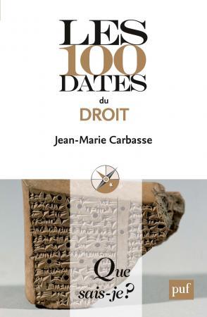 Les 100 dates du droit