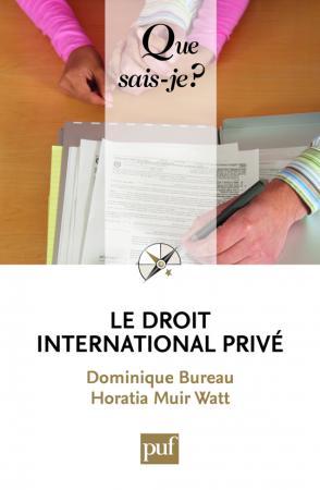 Le droit international privé