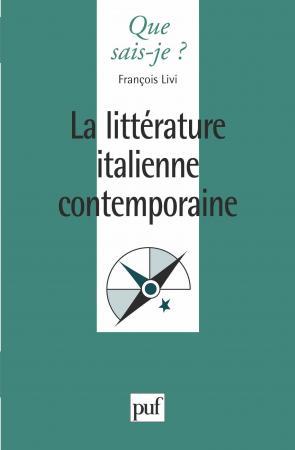 La littérature italienne contemporaine