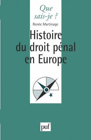 histoire du droit pénal en Europe