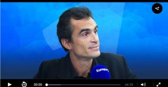 Bibia Pavard était l'invitée de Raphaël Enthoven dans l'émission « Qui vive » ? - Europe 1